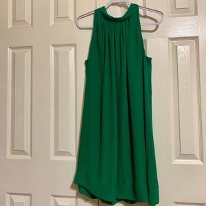 New York & Company Emerald Shift Dress